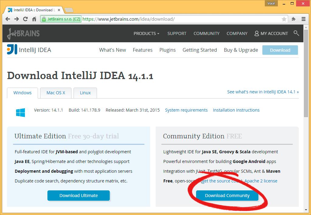 Instalação do IntelliJ IDEA — POO 1 0 documentation